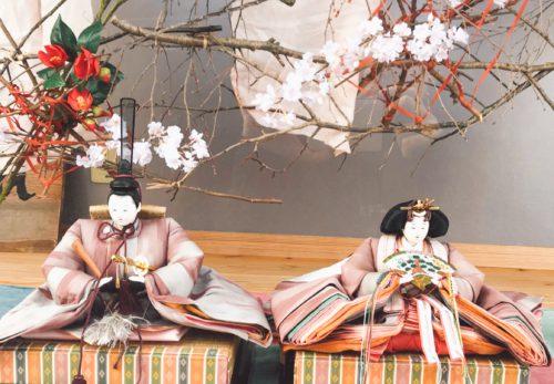 月桃茶試飲会♡ ファブリ村の雛祭り